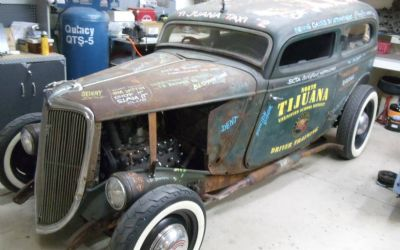 1934 Ford RAT Rod