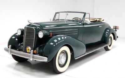 1936 Cadillac Fleetwood Convertible Coupe