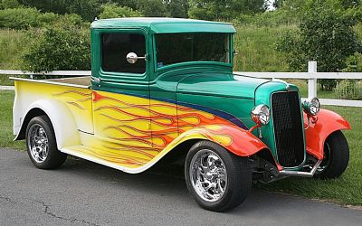 1934 Ford Custom Pickup
