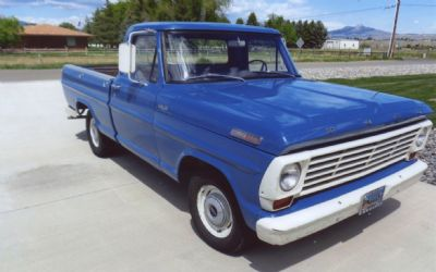 1967 Ford Styleside Pickup - Sold!