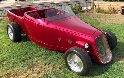 1932 Ford Custom Hot Rod Ambr Award Winner