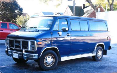 1988 GMC Ralley 1 Ton Window Van