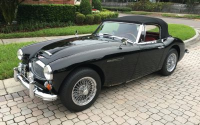 1966 Austin Healey 3000 2 DR. Convertible
