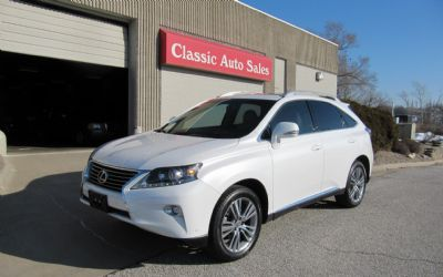 2015 Lexus RX350 AWD All Options