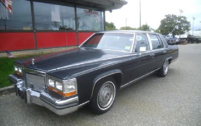 1989 Cadillac Brougham Fleetwood Brougham